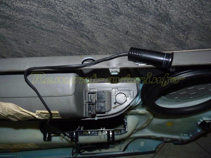 Подсветка дверей форд фокус 2 92