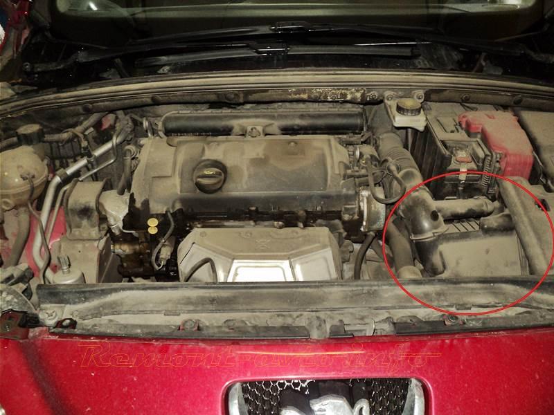 Замена масла в двигателе на пежо 308 своими руками 96