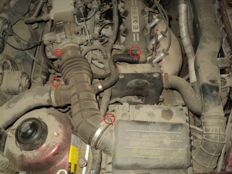 Электросхемы автомобиля Daewoo Matiz (Дэу Матиз) 32