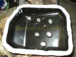Самостоятельная замена масла в АКПП на автомобиле (Хендай Матрикс)_3