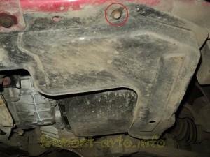 Самостоятельная замена масла в автоматической коробке передач на автомобиле Hyundai Matrix (Хендай Матрикс).