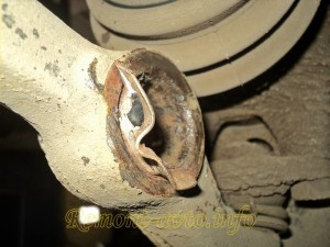 замена сайлентблоков передних рычагов автомобиля ваз 2108