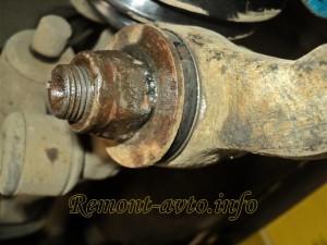 замена сайлентблоков передних рычагов автомобиля ваз 2113