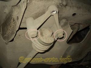 замена сайлентблоков передних рычагов ваз 2110