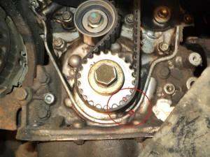 замена ремня ГРМ на автомобиле Шевроле Авео (Chevrolet Aveo, Daewoo Kalos) с двигателем 1.2 литра своими руками
