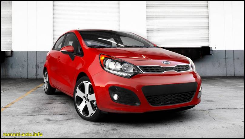KIA Rio 2015 -photo