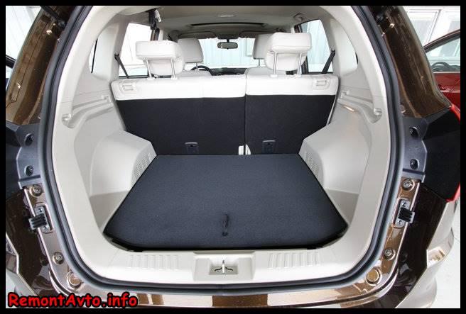 Черри Тиго 5 (2015) цена и комплектация фото багажник