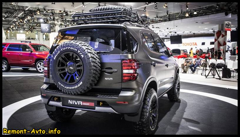 Chevrolet Niva Шевроле Нива 2015-2016 года, фото
