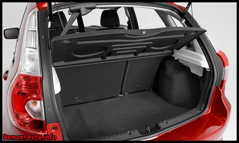 Датсун Ми-До 2015 фото, цены и комплектации - Datsun mi-DO- багажник