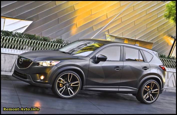 Мазда СХ 5 (2015-2016) года новая модель видео тест драйв, фото новой Mazda CX-5