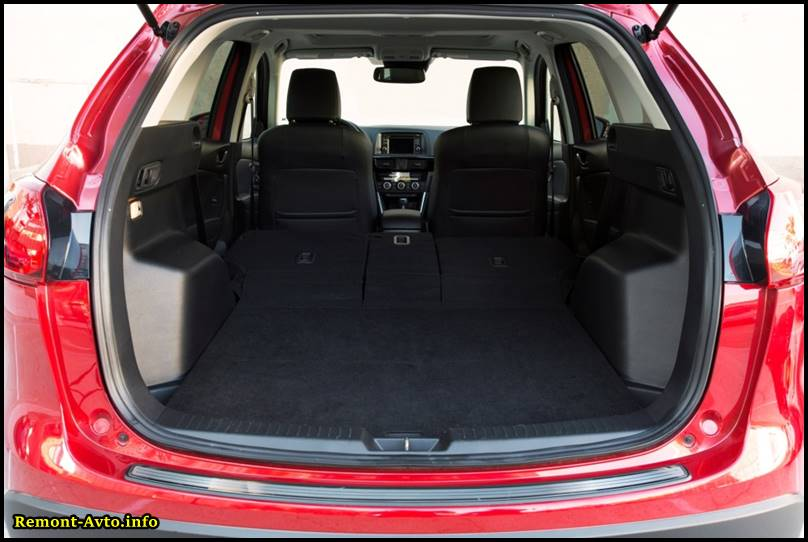 Mazda CX-5 фото багажника