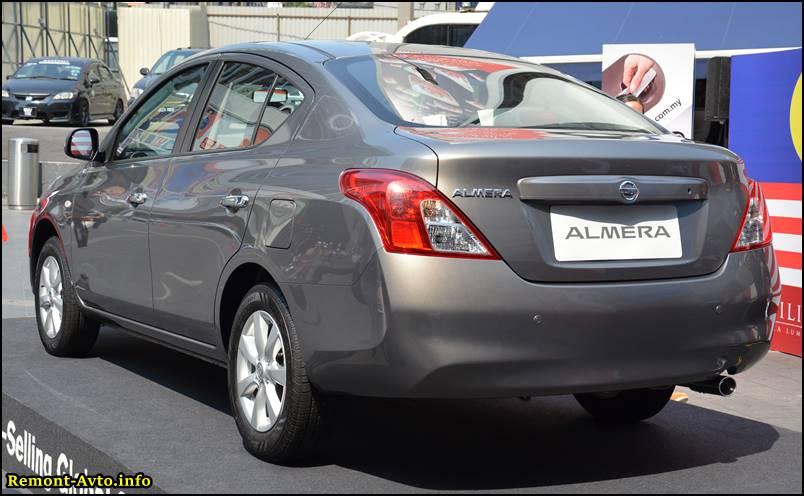 Nissan Almera 2015 foto