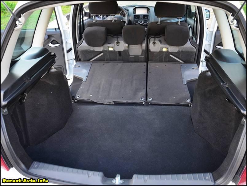 Лада Калина 2 универсал фото 2015 багажник