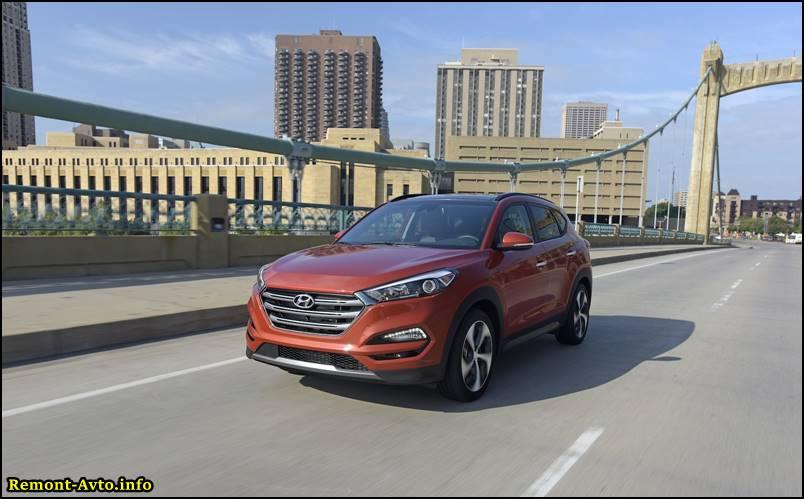 Хендай Туссан (2015-2016), новый кузов, комплектации и цены, фото, цена в России - Hyundai Tucson