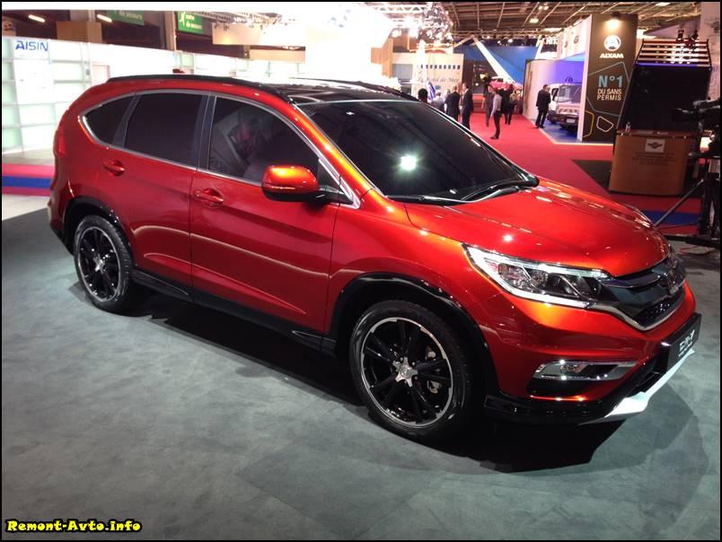 Хонда СРВ (2015-2016) года в новом кузове, фото, комплектации и цены, технические характеристики