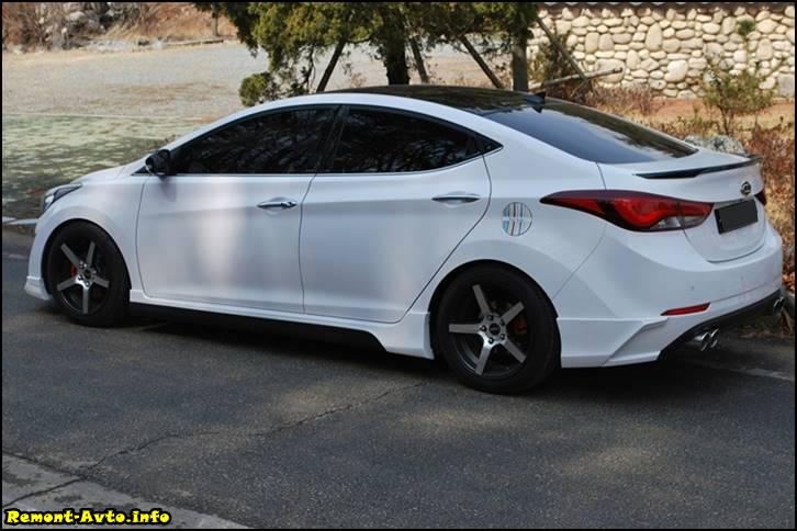 Hyundai Elantra V поколения