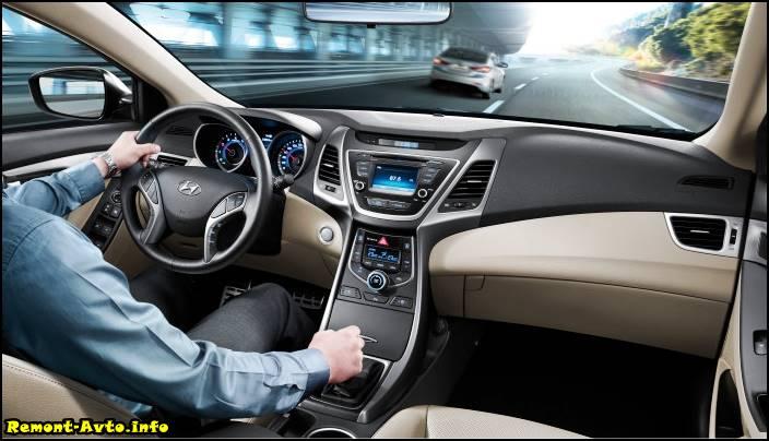 Hyundai Elantra 2015 фото салона