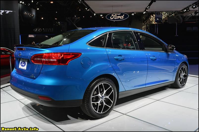 Технические характеристики Ford Focus 4 foto sedan