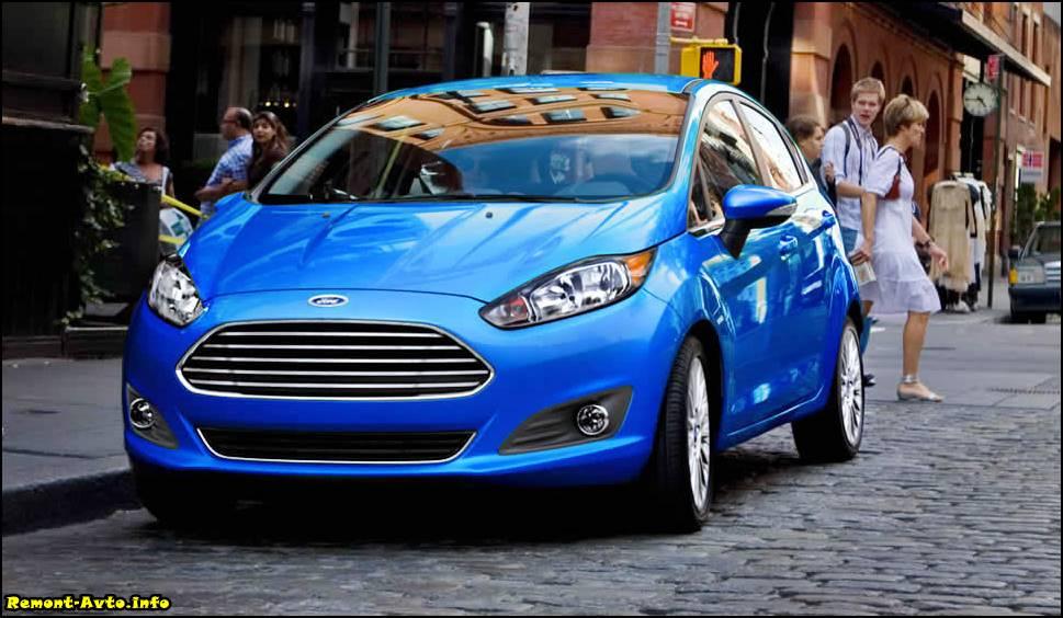 Форд Фиеста 6 поколения (2015-2016) цена и комплектация, фото