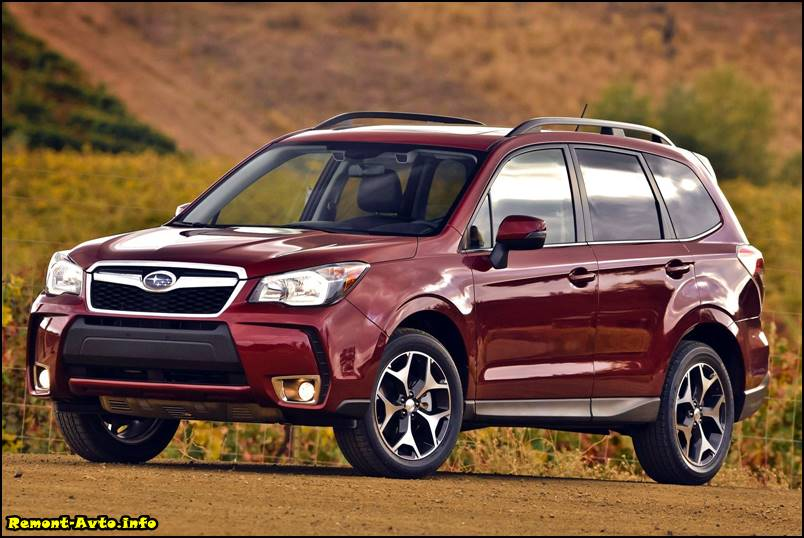 Subaru Forester 5 поколения фото
