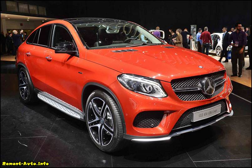 Mercedes GLE Coupe фото