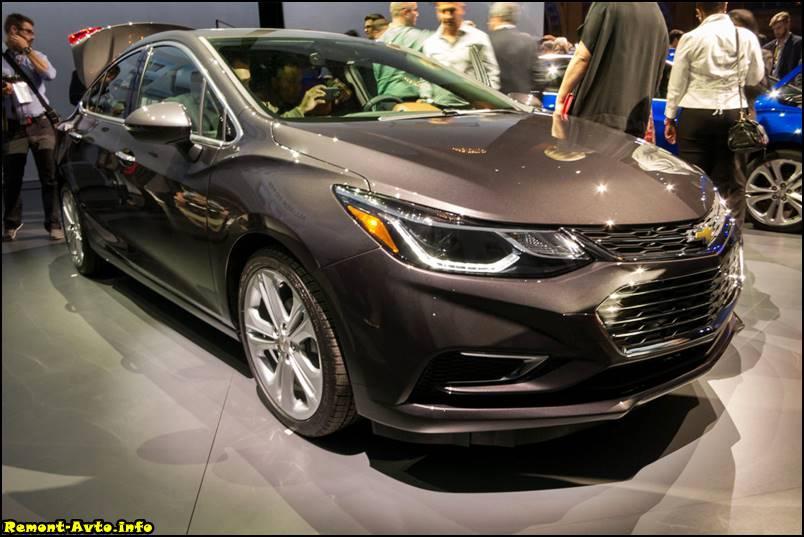 Chevrolet Cruze 2 поколения фото
