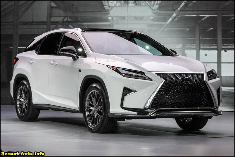 Lexus RX 4 фото