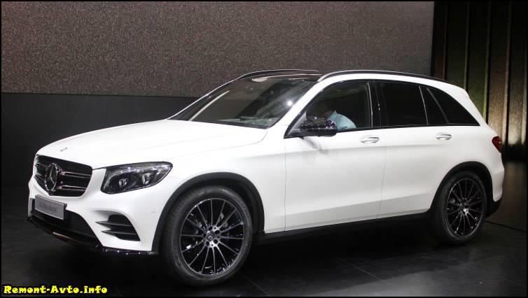 Mercedes GLC фото