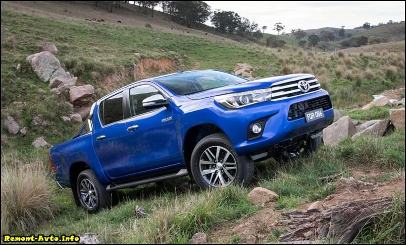 цена в России - Toyota Hilux II foto