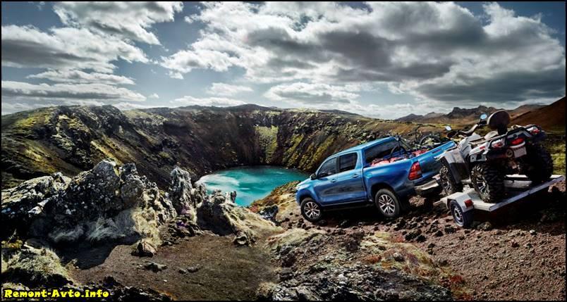 цена в России - Toyota Hilux II -2016-foto