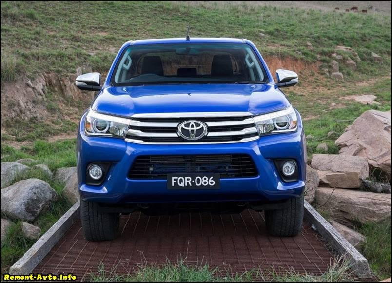 Тойота Хайлюкс (2015-2016) в новом кузове, комплектации и цены, фото, цена в России - Toyota Hilux II