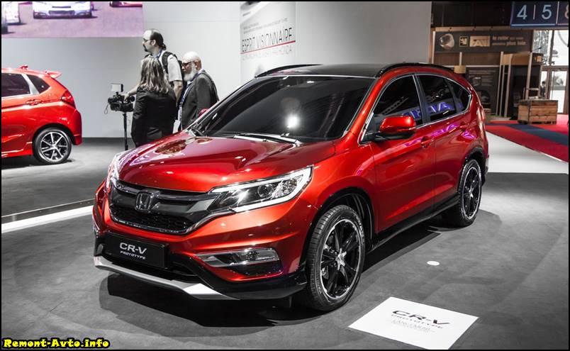 Honda CR-V 5 поколения фото