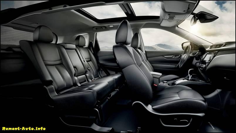 Nissan Qashqai в новом кузове 2016 года фото салона 2