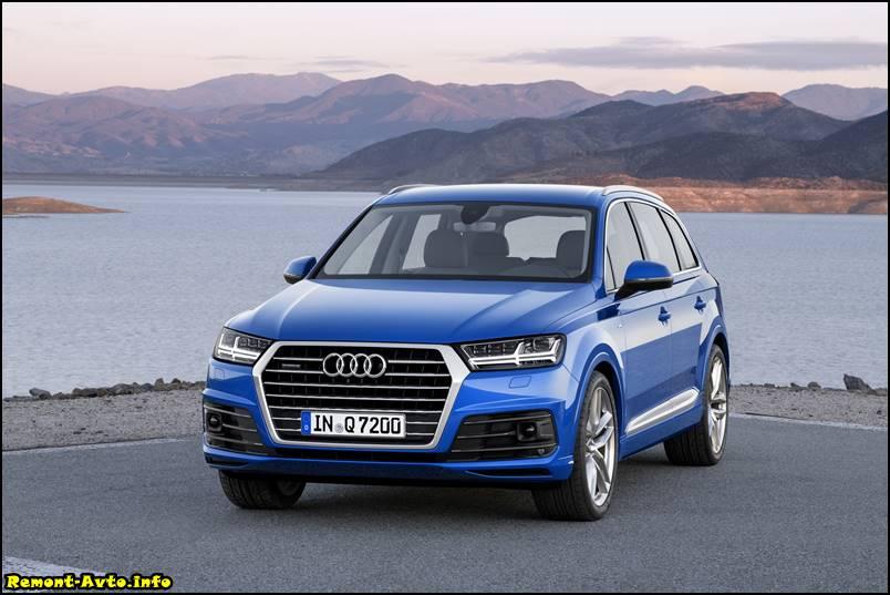Audi Q7 -фото 2015