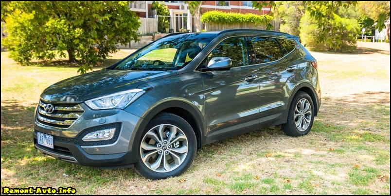 фото нового Hyundai Santa Fe 3 поколения 2015-2016