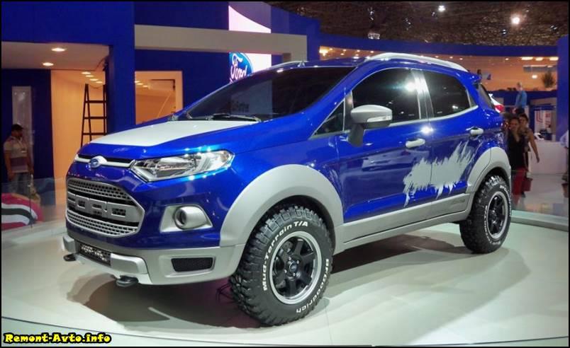 Форд Экоспорт 2015-2016 года в новом кузове фото