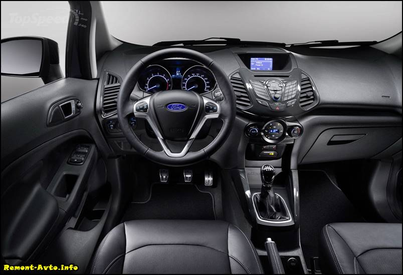 Ford EcoSport (2015-2016) фото салона