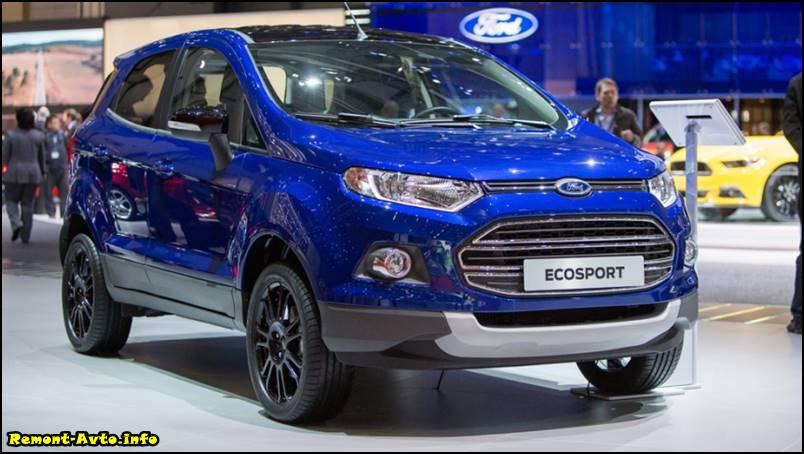 Новый Форд Экоспорт (2015-2016)