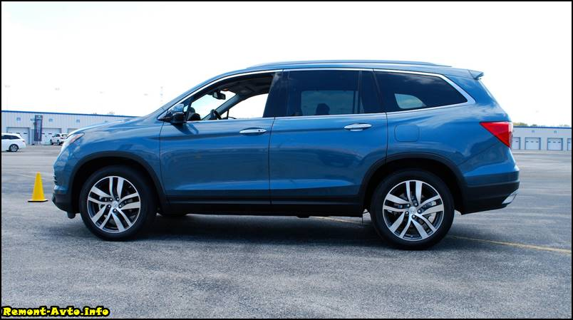 Honda Pilot 2015-2016-new photo