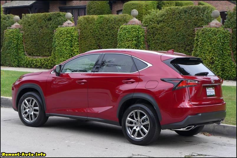 фото нового Lexus NX 200