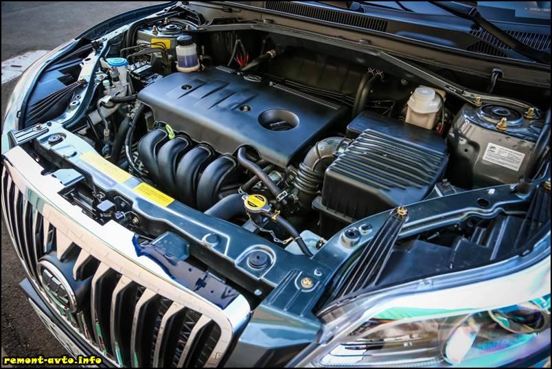 Lifan X60-2016 фото мотора