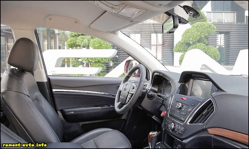Лифан Х80 (2015-2016) в новом кузове фото салона