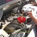 Самостоятельная замена масла на автомобиле Газель Некст с двигателем Cummins 2,8